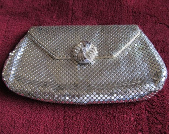 Whiting & Davis Sequin Evening Bag