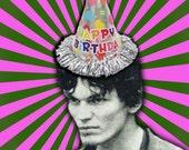 Richard Ramirez birthday card Night Stalker serial killer true crime goth scary