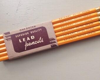 Vintage spiegel pencils set of 12
