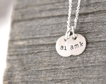 Initial Necklace, Children's Initial Necklace, Grandmother Necklace, Mom Initial Necklace,Kids's Initial Necklace,Grandma Necklace, Initials
