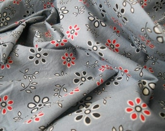1950s-60s Cotton Fabric 3.5 yards