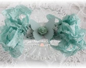 Seam Binding Crinkle Ribbon~Aquamarine~5 Yards, Scrapbooking, Cardmaking, Tag Art, Sewing, Gift Wrap