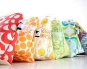 Bridal Party Set - Personalized Cosmetic Makeup Bags for your Bridesmaids - Set of 8