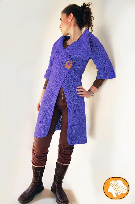Mustard or blue woolen coat
