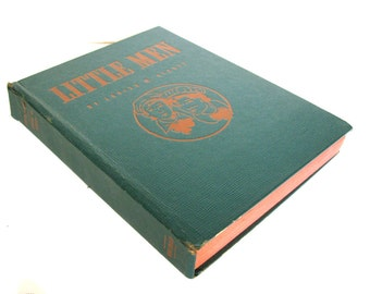 Little Men by Louisa May Alcott 1940 Whitman Publishing Edition Illustrated by Erwin L.Hess