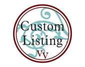 Custom Listing- Heart Only
