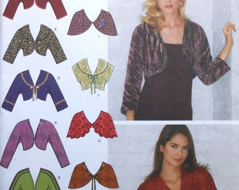 Bolero and Shrug Sewing Pattern UNCUT Simplicity 3921 Sizes 8-16