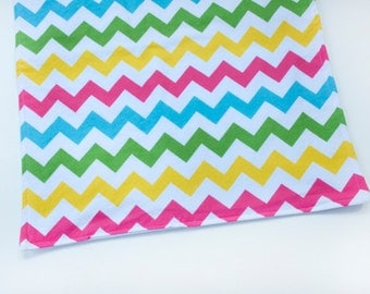 Baby Waterproof Changing Pad Mat Blanket Baby Shower Gift, Chevron Rollup Diaper Pad, Infant or Toddler Gifts Baby Items