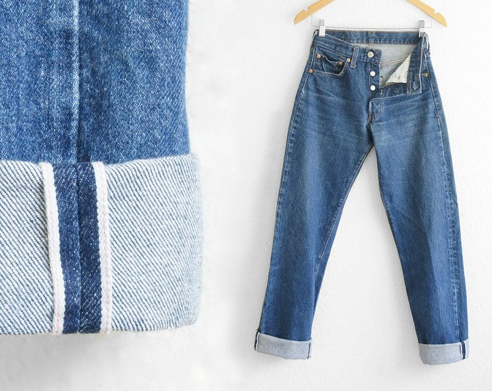 levis 501 redline jeans high waisted levi high waisted vintage. Black Bedroom Furniture Sets. Home Design Ideas