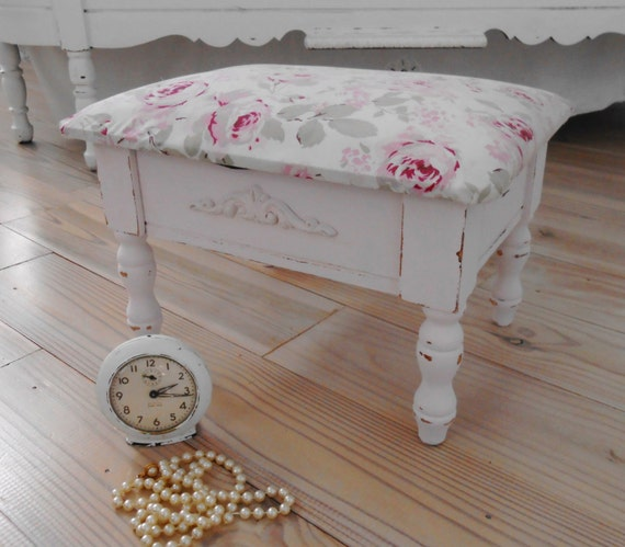 stool foot stool bench shabby chic rachel ashwell furniture. Black Bedroom Furniture Sets. Home Design Ideas