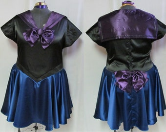 Plus Size Sailor Scout OOAK One of a Kind Costume Cosplay Adult Women's Custom Fit 16 18 22 22 24