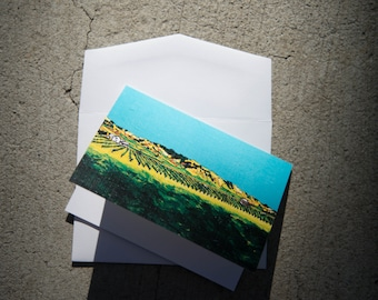 Greeting Cards- Set of 5: Anaba Vineyards, Sonoma County California
