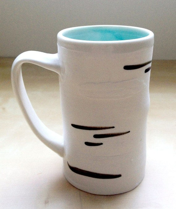Porcelain Birch Mug