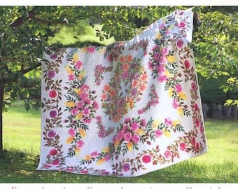 Japanese Patchwork Quilt Pattern Book - Kathy's Garden Quilts by Kathy Nakajima - Quilting Wall Tapestry, Bag, Pouch, Purse Patterns - B457