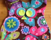 custom order for mandiewhittle Owl Owl Travel Pillow - Butterfly Owl