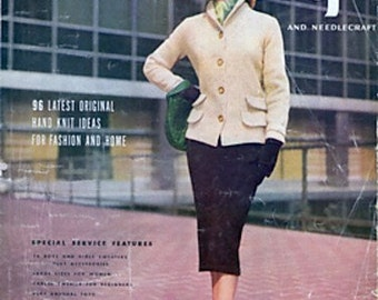 KNITTING PATTERN - Ladies Tweed Jacket and Skirt Vintage Retro Pattern 14, 16 and 18 sizes