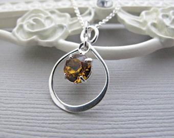 birthstone necklace, Birthstone jewelry, mothers necklace, mothers jewelry, Silver Birthstone necklace, Silver Necklace, Silver Jewelry