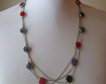 Lovely Three Strand Necklace