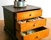 Handsome Antique Sewing Caddy