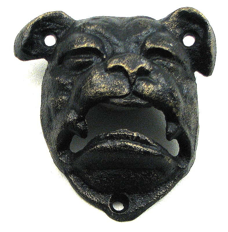 bulldog bottle openers bulldog bottle opener cast iron wall mount antiqued black or