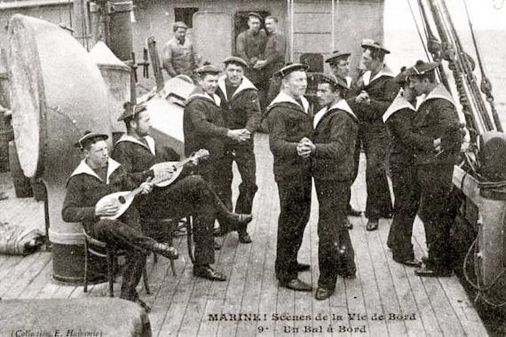Photos de marins gays