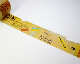 Discontinued-Limited Edition mt Japanese Washi Masking Tape Vol.1  - Cardboard 30mm wide for packaging, deco