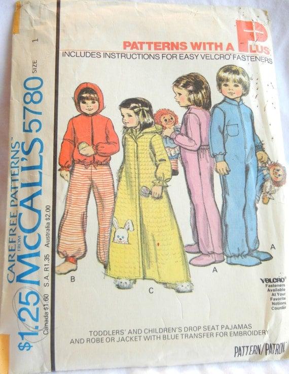 Footed Pajamas Pattern Footed Pajamas And Robe Sewing