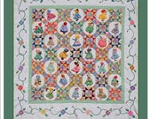 Flower Bonnet Sue quilt pattern.