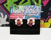 ON SALE - Doc McStuffins Hallie the Hippo Stud Earrings