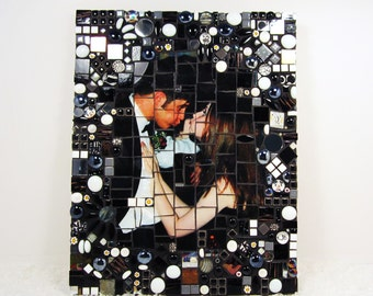 CUSTOM 8x10 mosaic from your favorite photograph..  your photo becomes family heirloom art