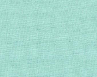 AQUA Bella Solids Moda fabric quilt cotton sewing blender tonal quilting sewing maker bonnie camille 1 yard 9900-34