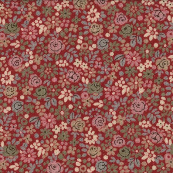 La belle fleur tiny floral french general moda shabby quilt for La belle fleur
