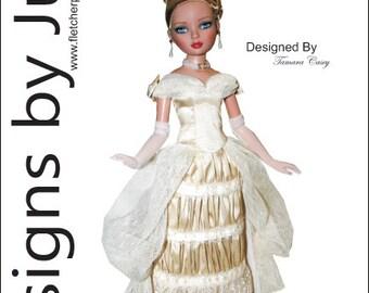 "Victorian Stroll Pattern for 16"" Ellowyne Wilde Dolls Tonner"