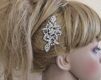Wedding hair comb vintage Wedding hair comb hair accessory Wedding hair comb hairpiece Bridal hair comb Rhinestone Bridal hair comb vintage