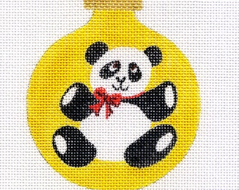 Panda Needlepoint Ornament - B67 - Jody Designs