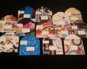 NYLON Magazine Upcycled Envelopes