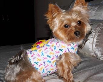 Cancer Awareness Dog Harness