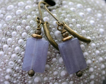 Lilac Purple Earrings