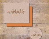 Baby Announcements, Bicycle, Tricycle, Baby Thank You Cards,Bicycle Thank You Cards, Birth Announcenents, New Baby