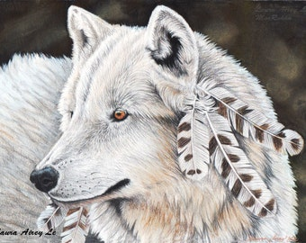Winter Is Coming - 8 x 10 Fine Art Print - By Laura Airey Le