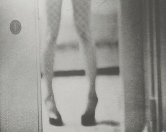 black and white, legs, fishnets, hotel, high heels, self-portrait 5x5, 10x10