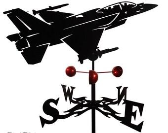 Hand Made Farrell F-16 FIGHTING FALCON Weathervane