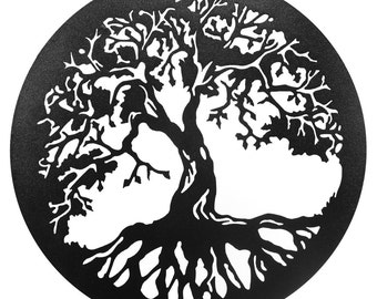 Hand Made Tree of Life Scenic Art Wall Design *NEW*