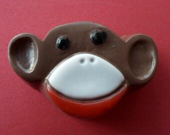Sock Monkey Soap   Handmade Soap for Kids   Gift for Kids   Children's Gift Soap   Soap Favor   Birthday Favor Soap   Zoo Animal Soap