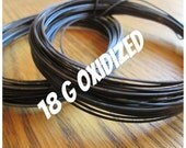 18g Oxidized Copper Wire-DS-Round-5-100ft