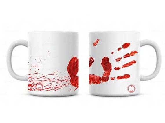 blood splatter coffee mugs - photo #31