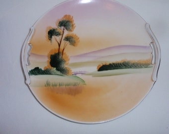 Plate, Wall Hanging Plate, Asian Style Plate