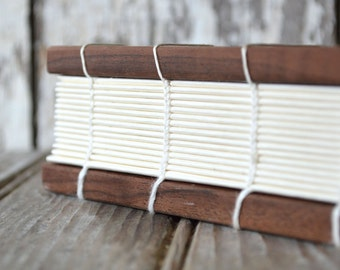 Large Coptic Bound Journal by Peg and Awl