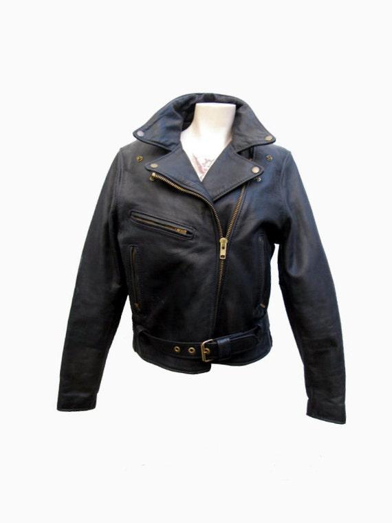 Leather Biker Jacket Womens
