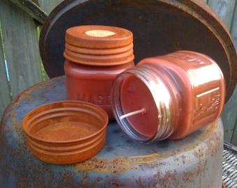 Jar Candle - Mason - 8 oz - Scented - Bulk Listing - (12) per case - Only 95.88